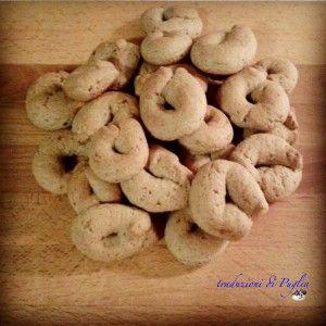 Biscotti con farina di orzo e latte di riso (cookies with barley flour and rice milk) | TRADUZIONIdiPUGLIA Ricette pugliesi-Recipes from Puglia
