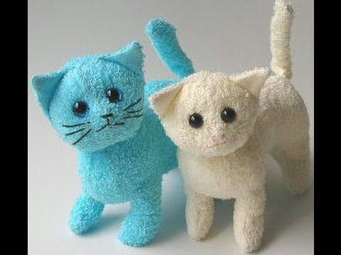 Kittens in fabric ideas , ideas de gatitos en tela - YouTube