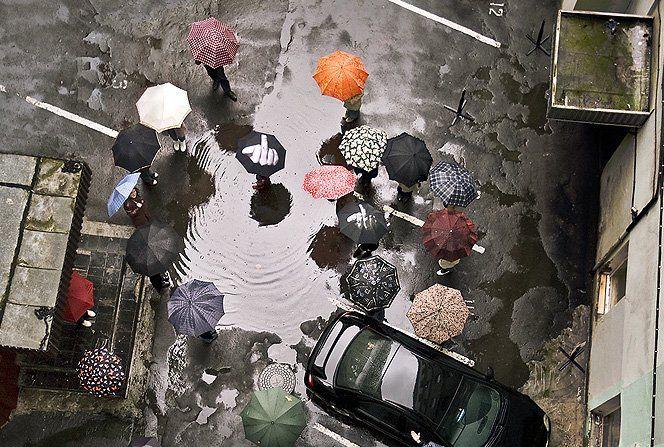 Dias de chuva são sempre complicados, mas quem disse que eles não podem ser também divertidos e criativos?Aqui vai umaseleção de 15 guarda-chuvas cheios de estilopara você não pegar um resfriado por aí.Via