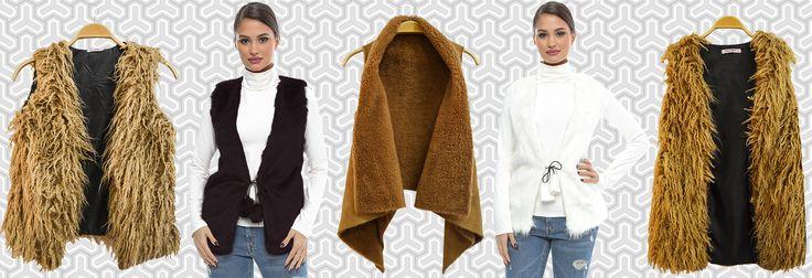 La Adrom Collection au sosit modele noi de veste de blană perfecte pentru sezonul rece de toamnă-iarnă 2016. Se pot achiziționa online în regim en-gros de aici: http://www.adromcollection.ro/29-veste-blana