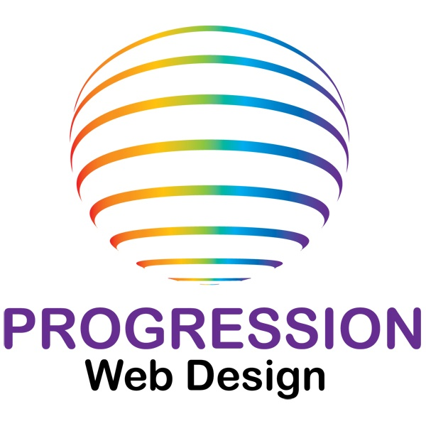 Our new simple logo   http://progressionwebdesign.co.uk