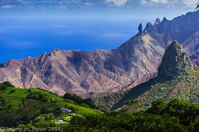 Saint Helena Island in the Atlantic, about traveling there