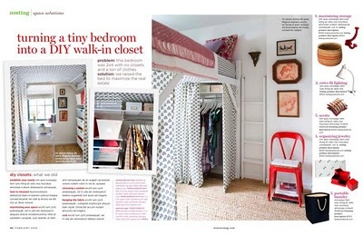 loft bed with closet under - great idea can be incorporated in various ways.