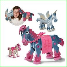 Bloco Construction Toys Horse and Unicorn Green Ant Toys www.greenanttoys.com.au