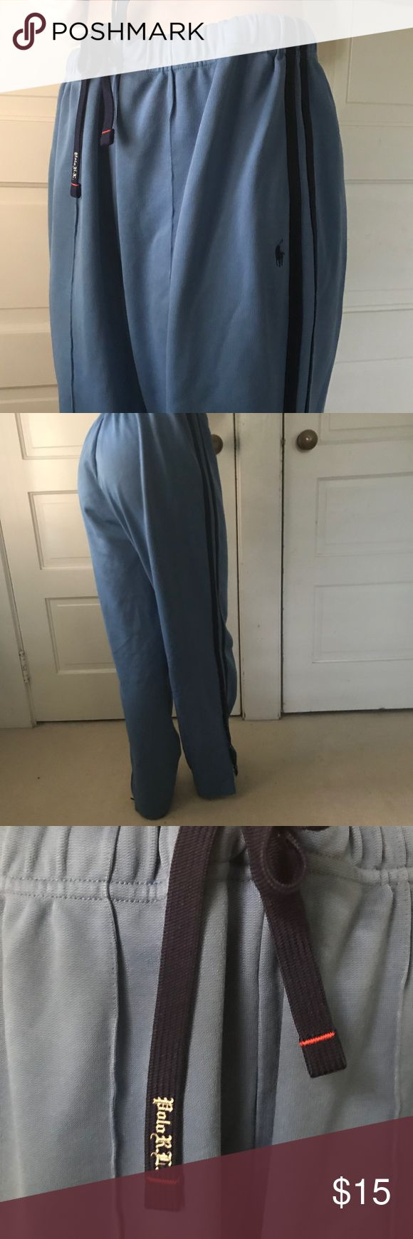 polo sweatpants blue comfy polo sweatpants. good condition. make an offer:) Polo by Ralph Lauren Pants Track Pants & Joggers