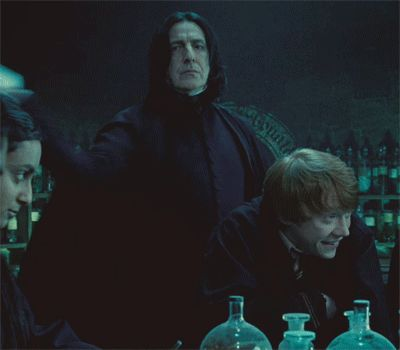 Then you have to deal with classes. If you're not in Slytherin, you're TOAST when you have Snape. | 31 Problems Every Hogwarts Student Will Understand