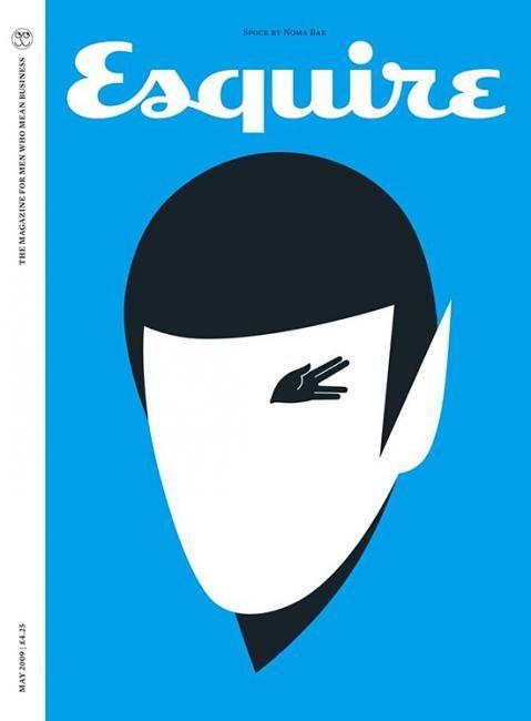Spock by Noma Bar