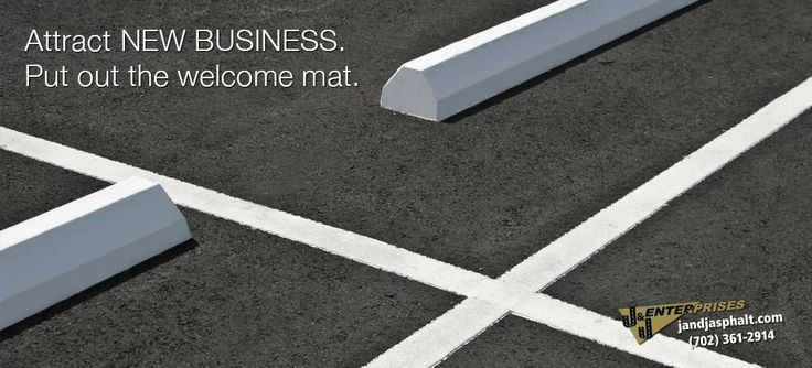 Replace broken parking blocks and re-stripe today. | #asphalt #roads #sealing #construction