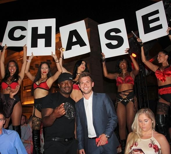 Reality TV star Chase Chrisley Celebrates 21st Birthday at Chateau Nightclub & Rooftop in Las Vegas (Photo credit: Joey Olvera)