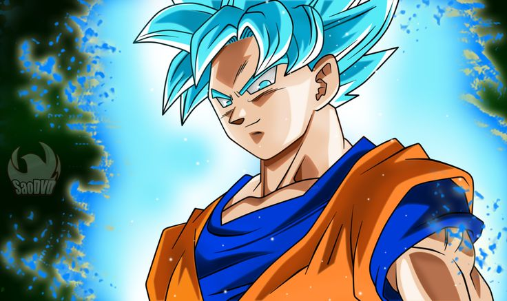 Goku SSJ Blue - Escenas by SaoDVD