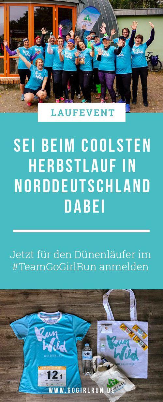 Lass uns als #TeamGoGirlRun die Welt erobern! Sei beim Dünenläufer 2018 – dem Herbst-Laufevent im Norden – dabei! Ich lade Dich ein, ein wunderbares Wochenende mit meinen Lauffreunden und mir in meiner Heimat Mecklenburg-Vorpommern zu verbringen. Gemeinsam genießen wir die schöne Ostseeküste im Ostseeheilbad Graal-Müritz und laufen zusammen durch den Küstenwald. #laufen #laufevent #wettkampf #ostsee #laufveranstaltung #rennen #spaß #team
