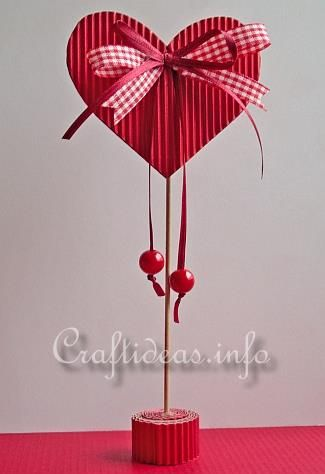 Valentine's Day or Mother's Day Craft for Kids - Paper Heart