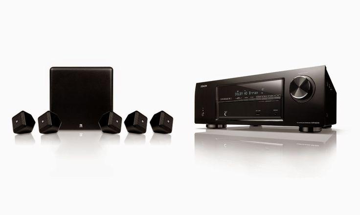 Denon DHT-E251BA 5.1 Home Theater System with Boston Acoustics Speakers Bundle