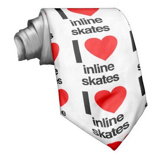 amo #patines en línea #corbatas para fanaticos del mundo de los #rollers