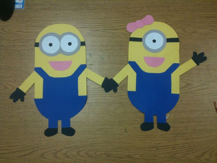 Minions I made for my after school care bulletin board...finalized bulletin board photos to follow in the next few days