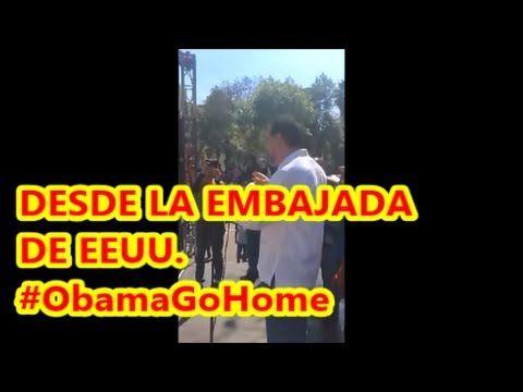 Desde la Embajada de EEUU, Fernández Noroña  #ObamaGoHome