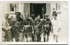 RARE! Old snapshot 1940's Turkish boys and men in military uniforms Republic Day parade army officers ORIGINAL vintage photo by PhotoMemoriesLane on Etsy