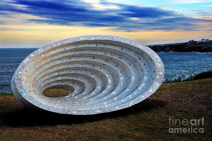 #SCULPTURE BY THE #SEA - #SPACE #TIME #CONTINUUM by #Kaye #Menner #Photography Quality Prints Cards Products at: http://kaye-menner.pixels.com/featured/sculpture-by-the-sea-space-time-continuum-by-kaye-menner-kaye-menner.html