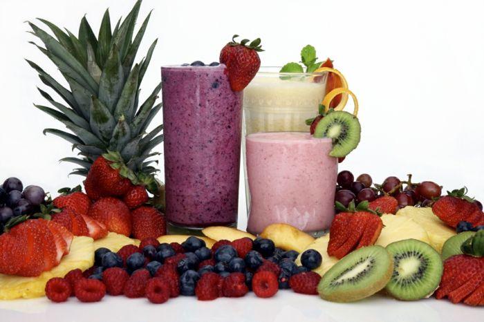 Smoothie Rezepte - die gesunden Durstlöscher im Sommer