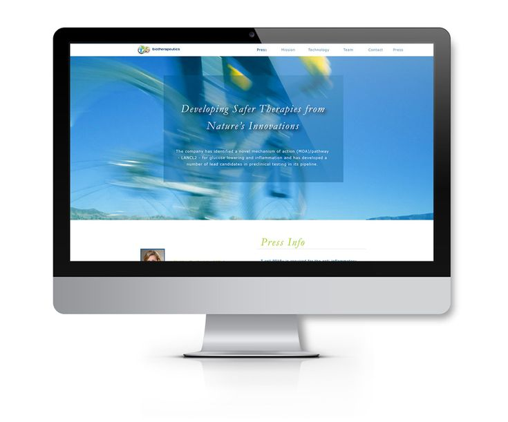 Biotherapuetics Website Design Wordpress Backend