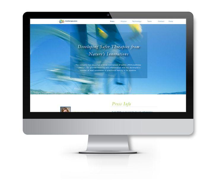Biotherapuetics Website Design Wordpress Backend