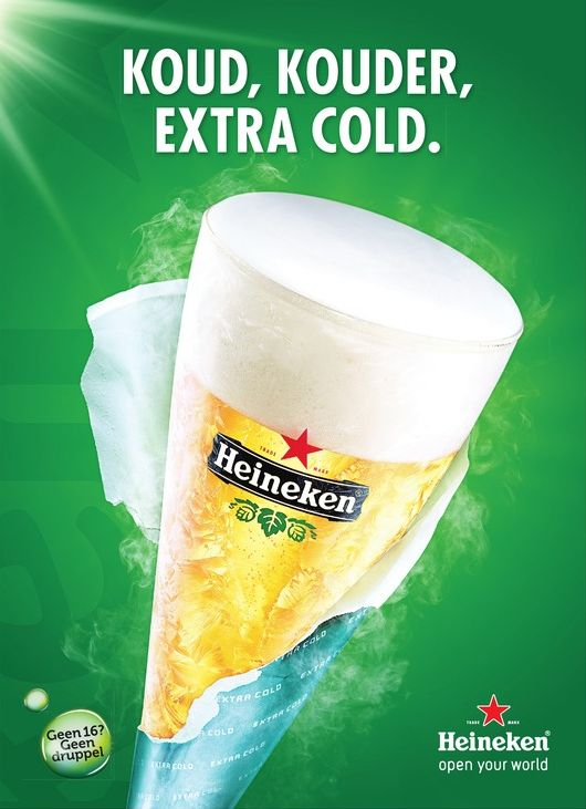 Heineken Extracold Beer Advertising Campaign
