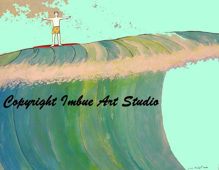 Surf's Up - Surf Art - Surf Decor - Surf Board Decor - Ocean Print - Ocean Art - Wave Art - Catch the Wave - beach Decor - Modern Art Print by ImbueArtStudio on Etsy https://www.etsy.com/listing/509645273/surfs-up-surf-art-surf-decor-surf-board