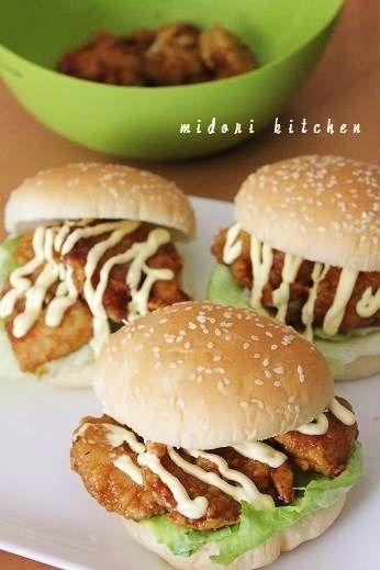 鶏むね肉で『函館のチャイニーズチキンバーガー』風 by midoriさん ...