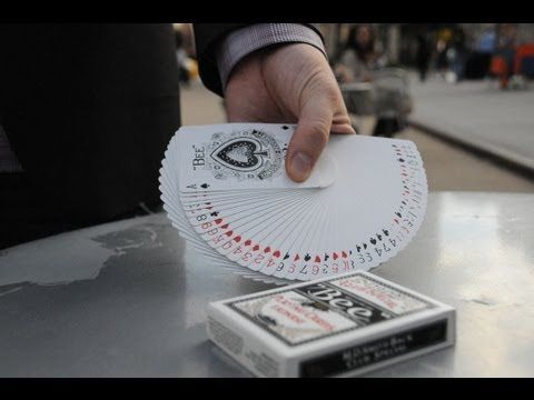 Card Tricks: The Thumb Fan