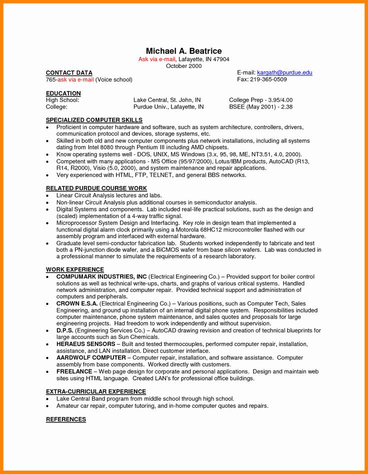 43+ Sample resume for college student looking for part time job Resume Examples