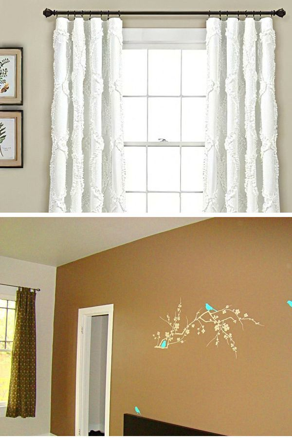 Do It Yourself Curtains Without Sewing And Making Your Own Curtains Easy Instructions From Across The Wo Curtains Without Sewing How To Make Curtains Curtains