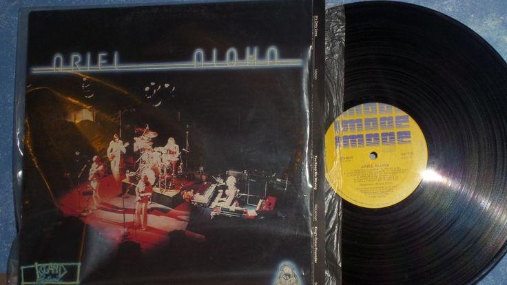 ARIEL Aloha LP 1977 Oz Rock Australian - Spectrum, Murtceps, Mike Rudd ILP 775