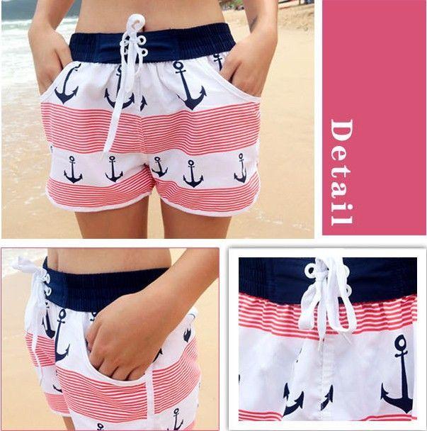 Buy from china:2014 New Swim Shorts For Women, Cotton Board Shorts Easy-drying, Couple Beach Shorts Women Men, Lovers Beach Pants, Swimwear.