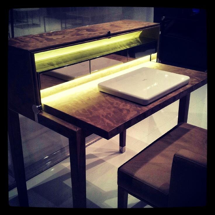 Magic desk by Yomei furniture #IMM2013 #interiordesign