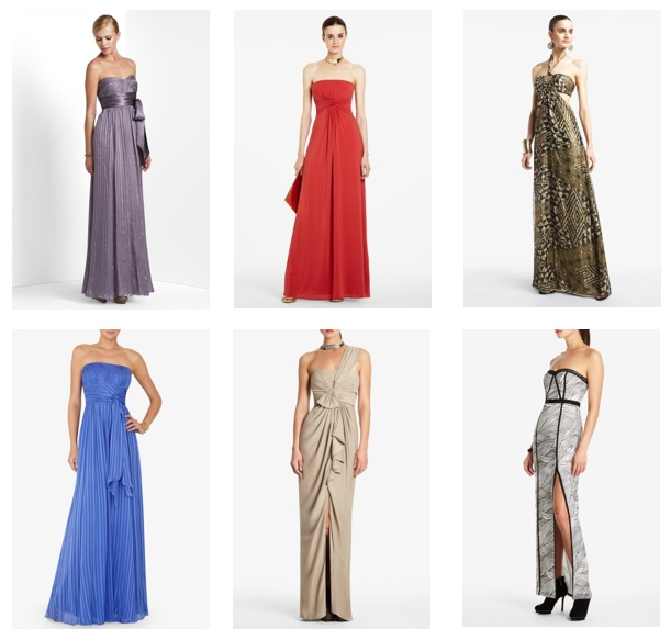 color class dresses, with a hint of glit