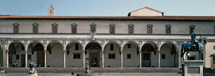 BRUNELLESCHI, Ospedale degli Innocenti 1419-45