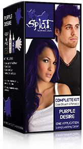 My fav. color! This kit has everything you'll need to take your hair from drab to fab