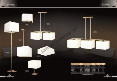 DUŻY ABAŻUR DO SALONU LAMPA PODŁOGOWA PLAZA LAMPEX (4974307504) - Allegro.pl - Więcej niż aukcje.