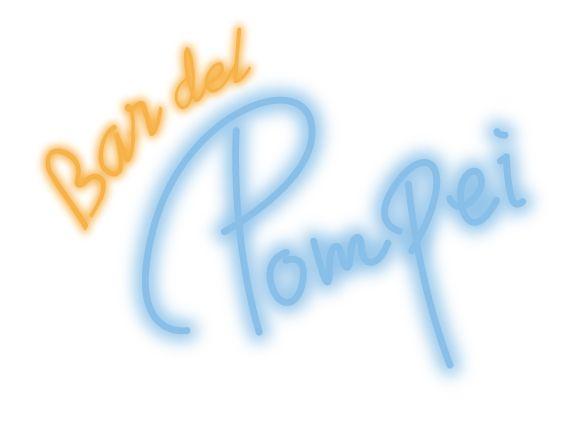 "Logo design for the bar ""Bar del Pompei""  - Imperial Hotel , Tokyo"