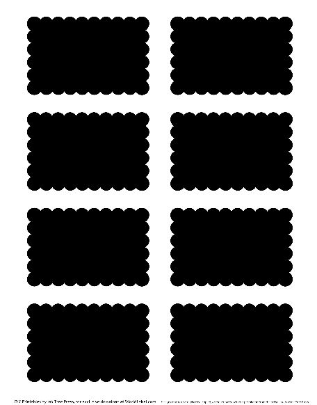 """Editable """"chalkboard"""" labels, in many shapes"""