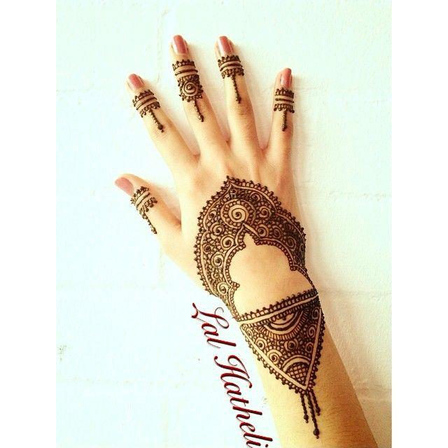Gorgeous Mehndi design by Lal Hatheli