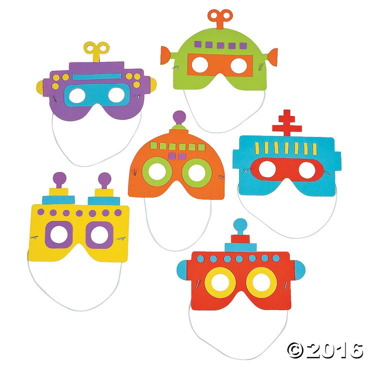 Our Robot Mask Craft Kit for kids is a perfect birthday party supply! Stock up for a robot birthday party and hand these foam craft kits out as party favors. ...
