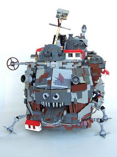 silksteel | Лего: Ходячий замок Хаула