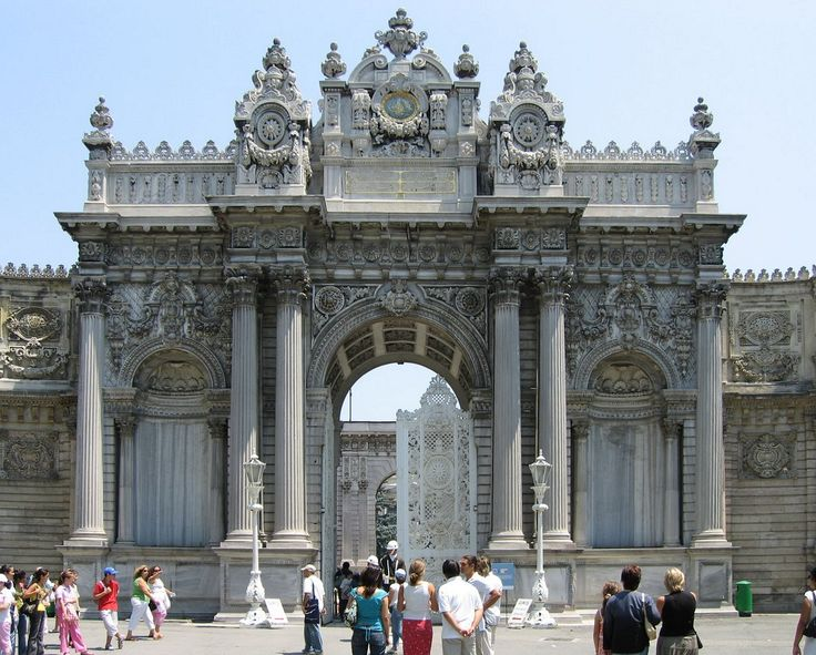 DolmabahceMainGate - Dolmabahçe Palace -