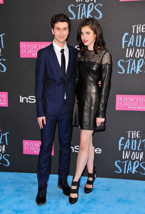 Margaret qualley, Nat wolff and Fault in our stars on ...