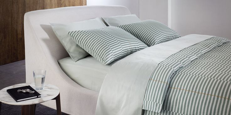 #checked #stripes #duvet #bedding