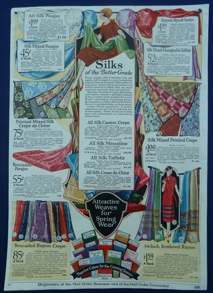 1920s hair styles period fabrics original vintage antique 1920 s wards ads 1580