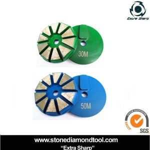 Terrco Quick Change Lock Diamond Grinding Disc Concrete Tools on Made-in-China.com