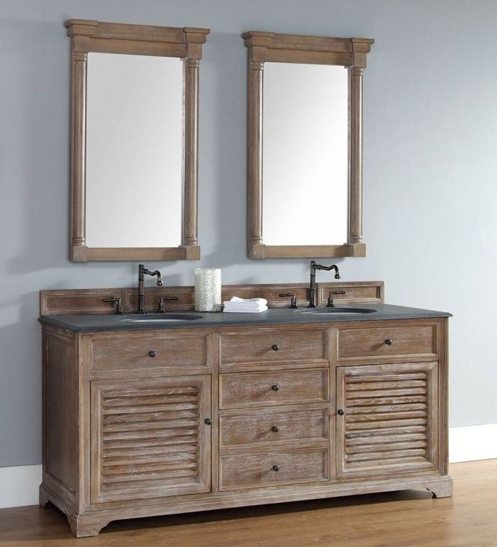 Beautiful 72 Inch Double Sink Bathroom Vanity, From The Beach, To The Cottage, To