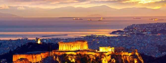 Athens - one of the most popular tourist destinations